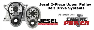 Jesel 2-Piece Upper Pulley Belt Drive Systems
