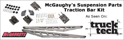 McGaughy's Suspension Parts Traction Bar Kit