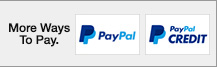 Pay with PayPal or PayPal Credit