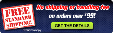 Free Shipping on Most Items Over $29.  *Exclusions apply.