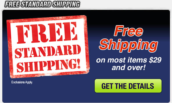 Free Shipping on Most Items $29 and Over!