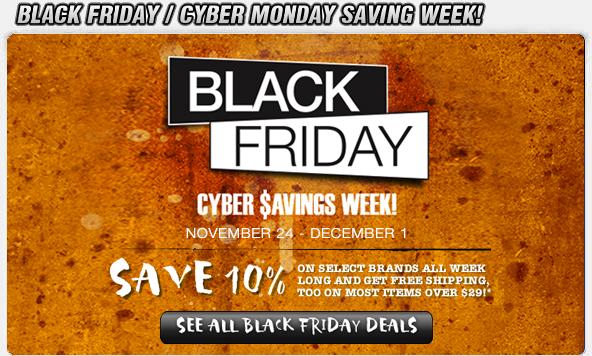 Black Friday Saving Week!