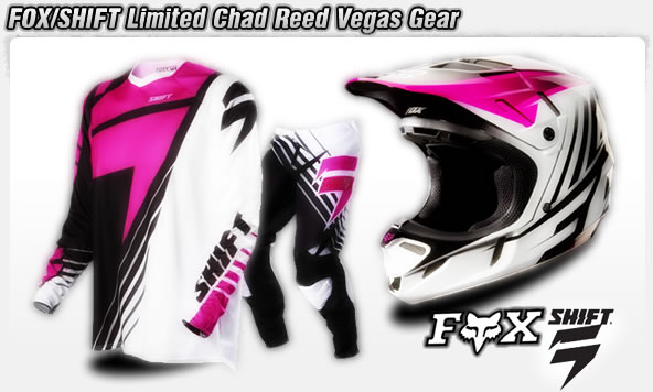 Fox Shift Limited Edition Chad Reed
