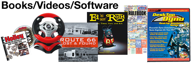 Automotive Books, Videos & Software