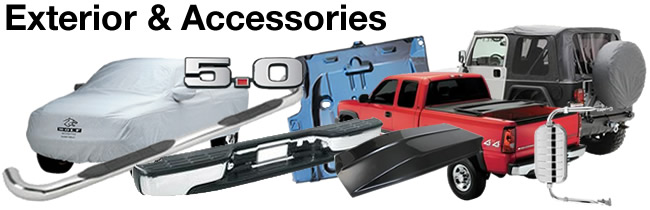 Automotive Exterior Parts & Accessories