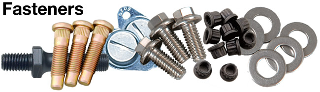 Automotive Fasteners, Clips & Hardware
