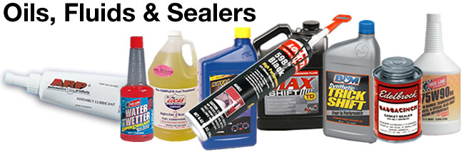 Automotive Oils, Fluids & Sealers
