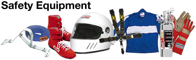 Racing Safety Equipment, Clothing & Gear