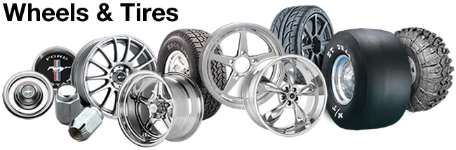 Wheels & Tires for Cars, Trucks & More