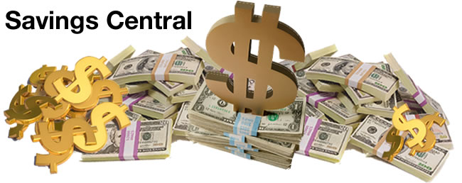 Savings Central, Many Ways to Save