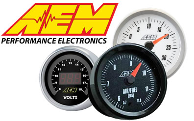 AEM gauges at Summit Racing