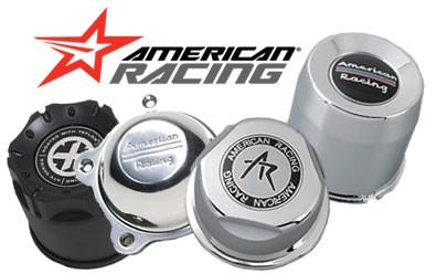 american racing wheel center caps