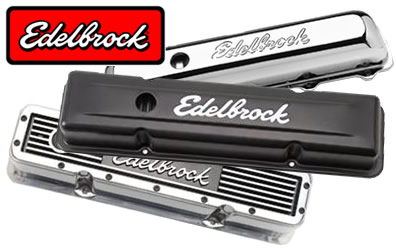 Edelbrock valve covers at Summit Racing