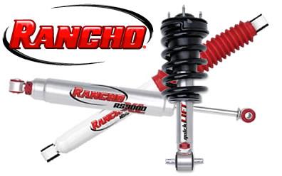 Rancho Shocks and Struts