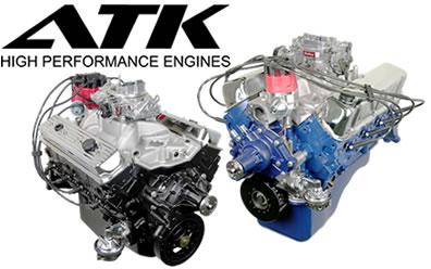 Main Atk on Chevy Crate Engines With Blower