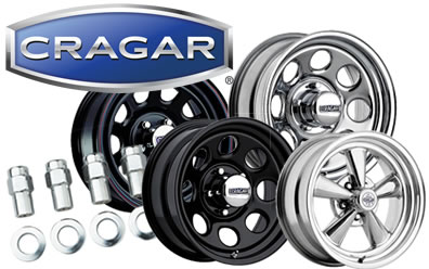 Cragar Wheels, Rims & More: Cragar Soft 8, SS, Mags, & more