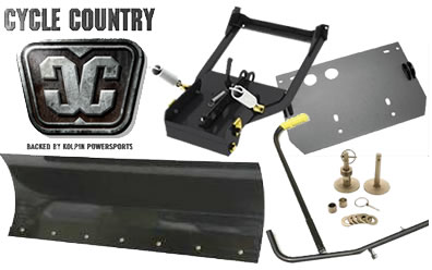 Cycle Country plows and parts at Summit Racing