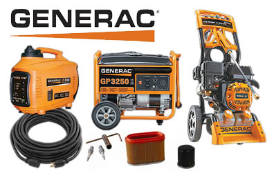 Generac Generators, Parts & More at Summit Racing