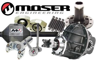 Moser Engineering Axles & More