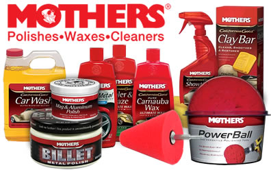 Mothers Wax, Polish, Clay Bar & More Products