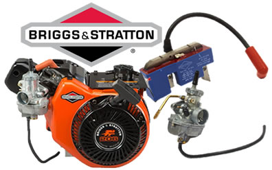 Briggs & Stratton Engines from Power Distributors at Summit Racing