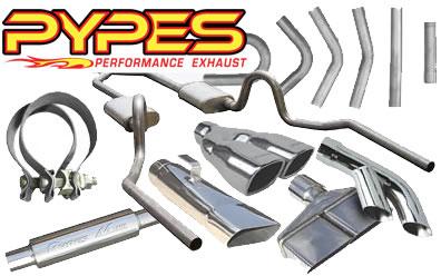 "Pypes MVR200S M-80 2.5/"" round Stainless Muffler Universal"