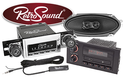 RetroSound Radios & More at Summit Racing