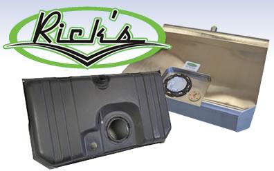 Rick's Hot Rod Shop at SummitRacing com: Custom gas tanks for any