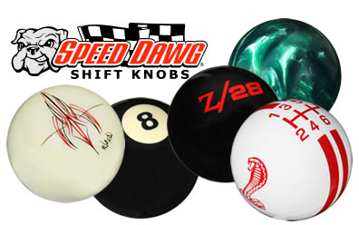 speed dog shifter knobs