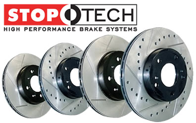 StopTech Brakes: Rotors, Pads, Kits, Lines & More
