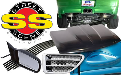 Street Scene Grilles, Bumpers & More Equipment