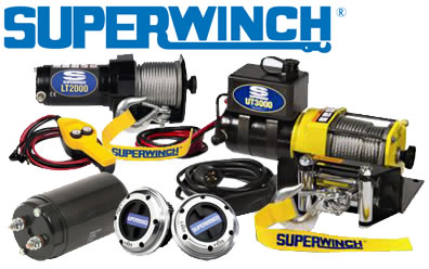 Superwinch Winches, Hubs & More
