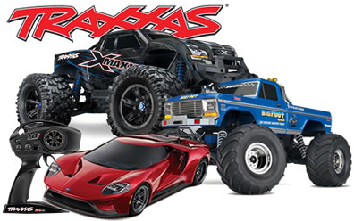 Traxxas RC Cars, Trucks, Boats, Helicopters & Parts