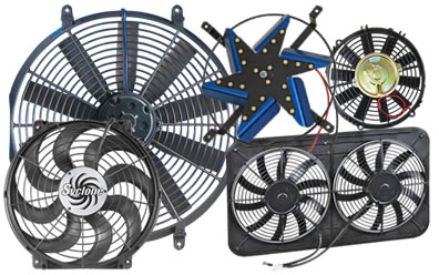 Electric Radiator Fans High Performance Cooling