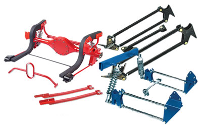 4 Link Suspension Kits At Summit Racing. Four Link Kits. Ford. 97 Ford F150 Rear Suspension Diagram At Scoala.co