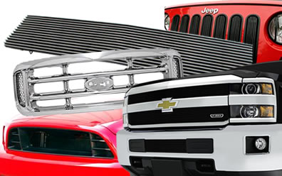 Grilles for Trucks, Cars & More