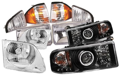Headlight Emblies