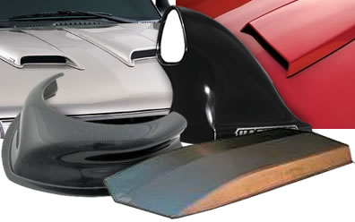Hood Scoops for Cars & Trucks at Summit Racing