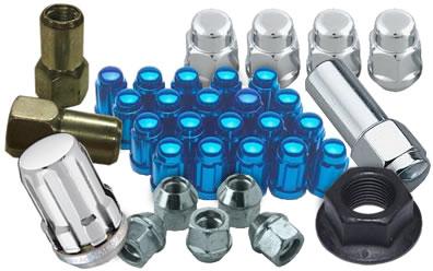 Lug Nuts for Wheels: Locking, Chrome, Black & More Styles