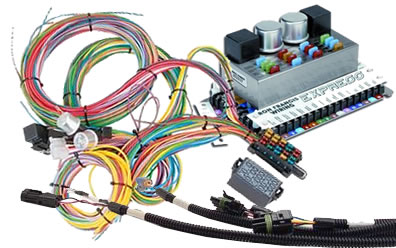 automotive wiring harnesses at summit racing rh summitracing com Street Rod Wiring Diagram haywire universal wiring harness