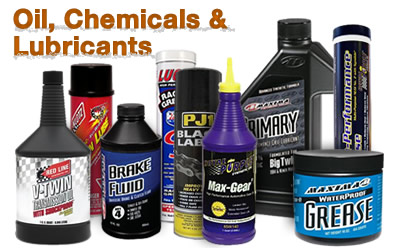 Oil, Chemicals & Lubricants for UTVs