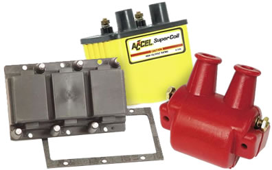 Ignition Coils at PowerSportsPlace com: ACCEL, MSD, Mallory, and