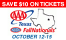 AAA Texas NHRA Nationals