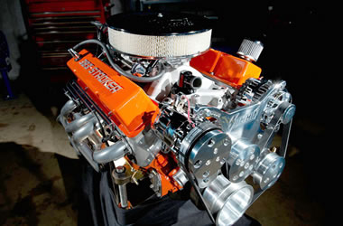 how to build a chevy 350 turbo motor