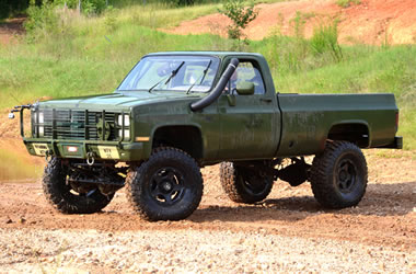 Build Your Own 4 Wheel Amp Off Road Alabama Army Truck