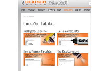 Let Deatschwerks Help You Calculate Fuel Injector Rates