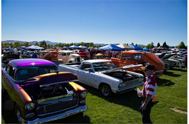 Northern Nevadas Largest OneDay Car Show Raises Thousands For - Mustangs plus car show 2018