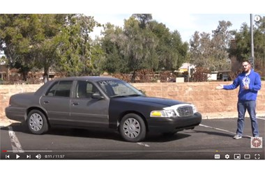 Auction Find: Rehabbing a Ford Crown Victoria Police