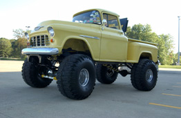 Lifted 55 Chevy