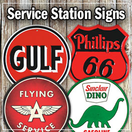 Service Station Signs